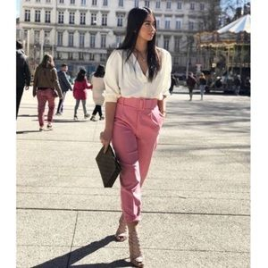 NWT Zara Pants with Belt